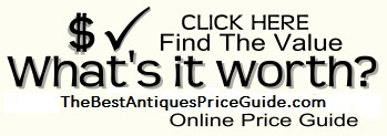 find values for antiques art jewelry
