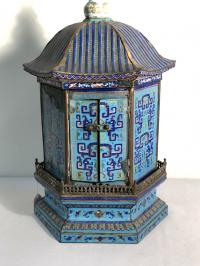 Chinese enamel household Buddhist shrine