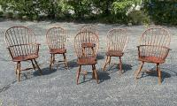 D R Dimes country Windsor chairs