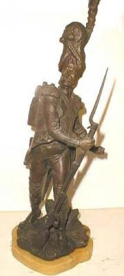 Bronze soldier by L. Madrassi french artist
