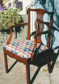Antique English Chippendale arm Chair