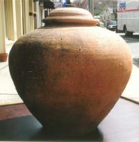 Song Dynasty Antique Chinese pottery storage jar