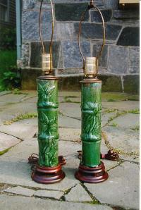lamps Chinese water pipe lamps 18th century