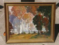 Harold Saxton Burr landscape Old Lyme Painter