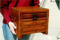 Antique Chinese dovetailed storage box