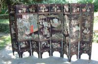 Antique Chinese Eight Fold Coromandel Screen