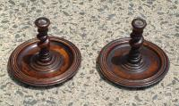 Antique Barley Twist Candle Sticks
