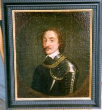 Antique Portrait Dutch Gentleman oil canvas