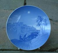 Bing and Grondahl Porcelain Christmas Plate dated 1922