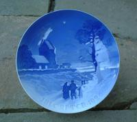 Bing and Grondahl Porcelain Christmas Plate dated 1926