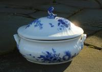 Vintage Royal Copenhagen Oval Covered Tureen