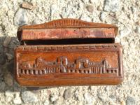 Antique English early 19th century snuff box