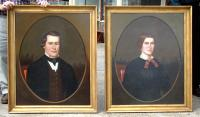 Antique Horace Bundy Portrait Paintings