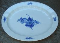 Royal Copenhagen Blue Flower Oval Porcelain Dish