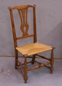 Chippendale country side chair 18th c