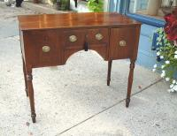 Period 18th century Mahogany side board or server