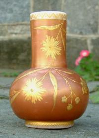 Antique 19th Century Bristol Glass Vase