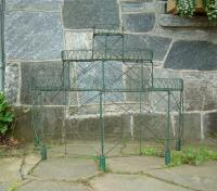 Antique French Victorian wire tiered plant stand