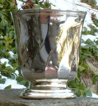 Christofle France Silver Plated Champagne Bucket