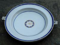 Chinese Export Porcelain hot water dish c1820