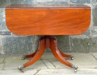 Federal Duncan Phyfe Mahogany Drop Leaf Table circa 1810
