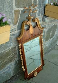 Chippendale Antique Mirror by Paines of Boston
