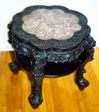 Antique Carved Chinese rosewood table