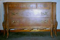 French flat front Louis xv style dresser