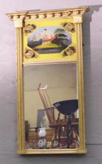 Federal Wall mirror early 19th century