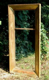 Antique American Federal Gold Leaf Mirror