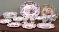 38 Pieces Mulberry Ironstone