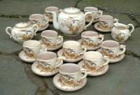 Antique 19th century Satsuma tea set