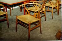 Set 12 Hans Wagner Chinese beechwood chairs