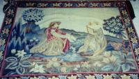 Antique Classic style French Aubusson Tapestry