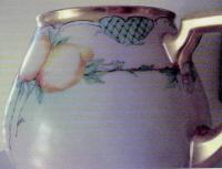 William Guerin and Company Factory Limoges Porcelain Pitcher