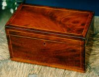 18th Century antique English sewing box