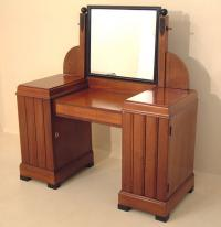 Ebonized French Art Deco vanity c1920