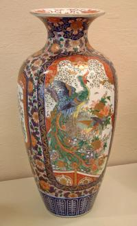 Large Antique Japanese Imari Vase