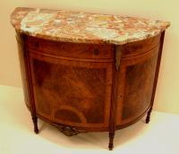 Antique French Marble Top Server
