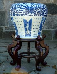 Antique Chinese Plant Pot Stand
