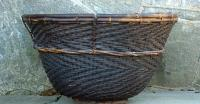 Antique Large Chinese Gathering Basket