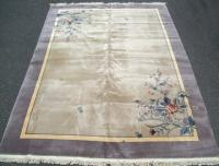 Chinese Art Deco lavender Rug