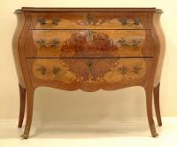 Antique French Bombay marquetry Chest