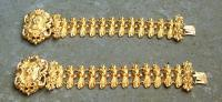 Rare matching pair French Restauration Period Bracelets