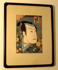 Toyokuni I Japanese Wood Block Print Great Actors