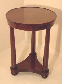Vintage French Empire style side table by Edward Garratt