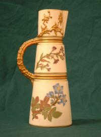 Antique Royal Worcester Porcelain Ewer