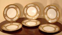 Legrand Limoges porcelain dinner plates c1920