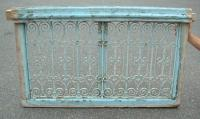 French wrought Iron window grill from Tunisia c1830