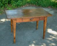 American pine country Hepplewhite tavern table c1800